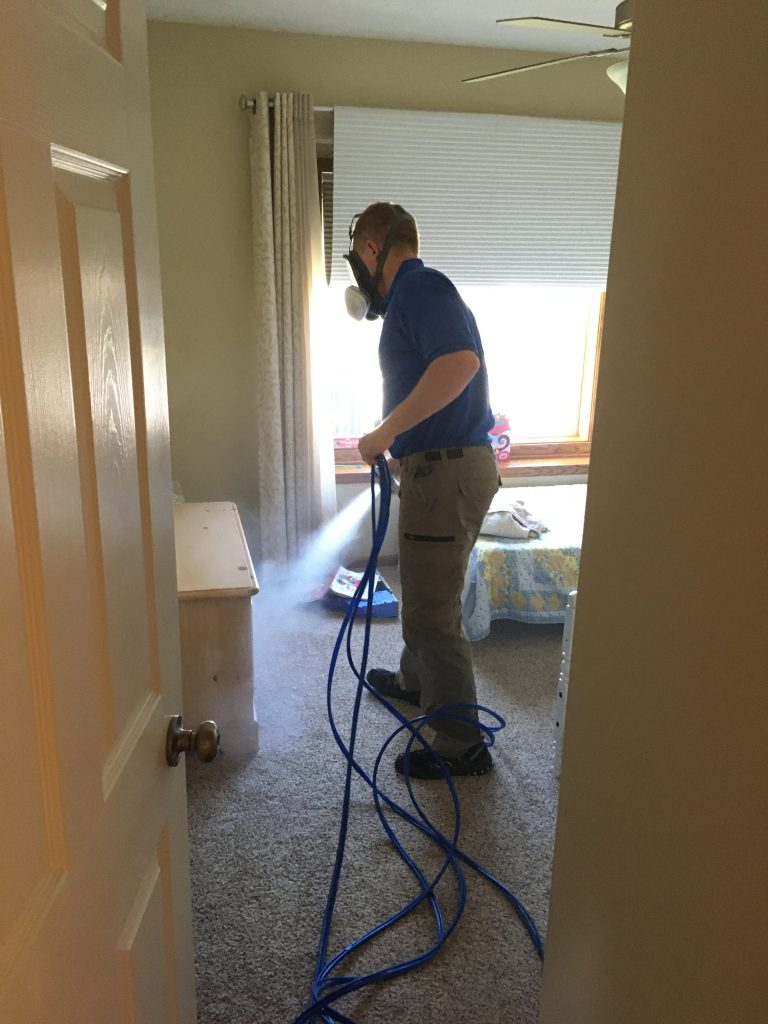 Mold removal and remediation process in Omaha - Lincoln area